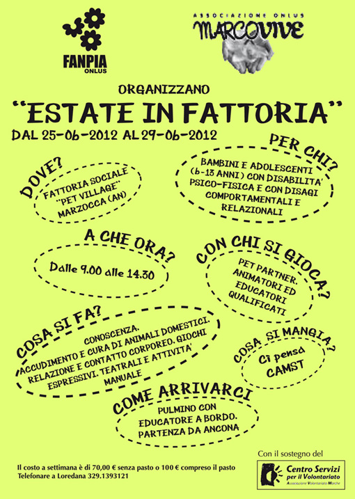 2012 – Estate in Fattoria