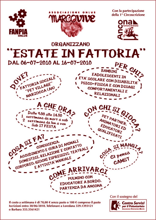 2010 – Estate in Fattoria
