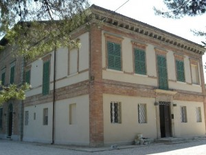 Villa Beer, in via delle Grazie, ad Ancona