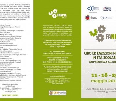 11-18-25 Maggio – Cibo ed emozioni nei DCA in età scolare dall'anoressia all'obesità.