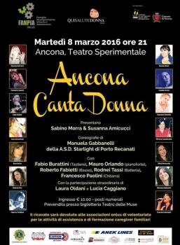 Ancona CantaDonna, musica e solidarietà