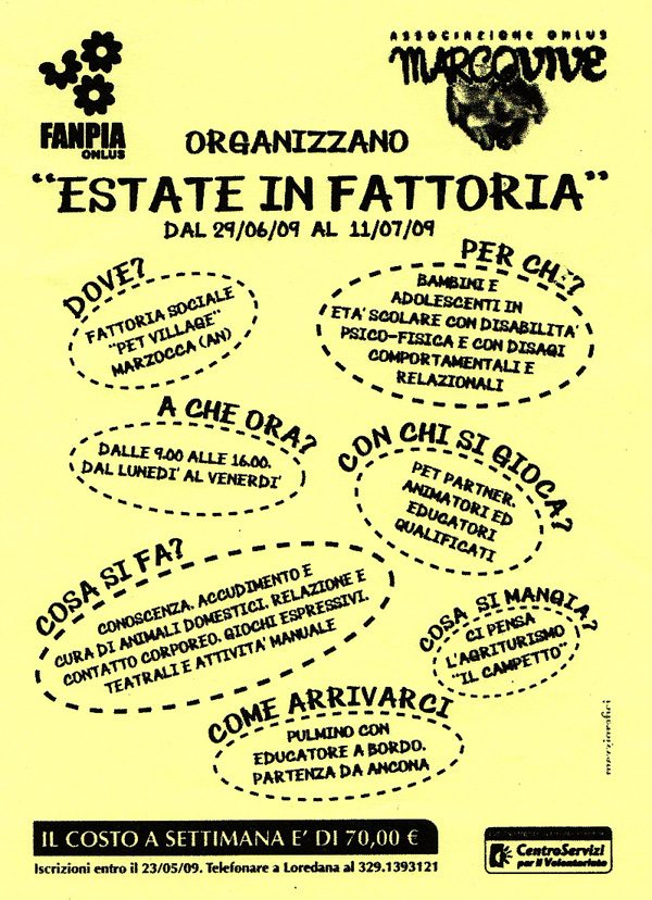 2009 – Estate in Fattoria