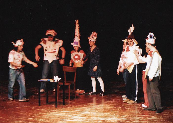 2006 – Inventiamo il teatro, teatroterapia
