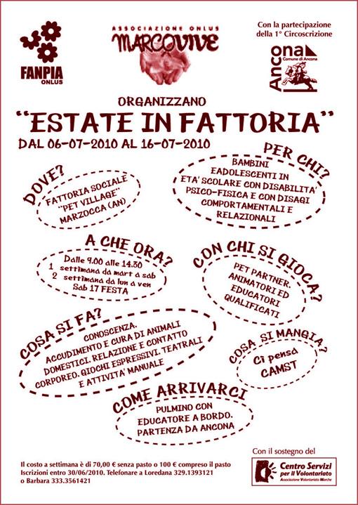 2010 – Estate in Fattoria